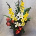 15 Gladioli and Lilies