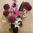 10 Allium and Orchids